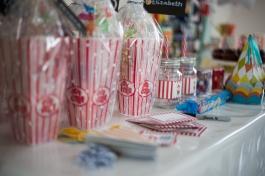 sneak peak, birthday, family, themed birthday, circus, burton, photography