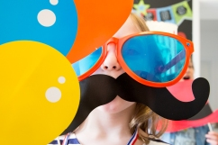 sneak peak, birthday, family, themed birthday, circus, bu