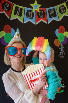 burton, party, family, twins, birthday, photography, goodbye shy, first birthday, party, circus, themed