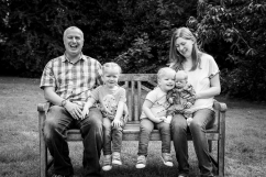Family Photography - Sudbury Hall, derbyshire, twins