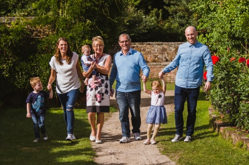 The Collinson Family at Calke Abbey August 2018